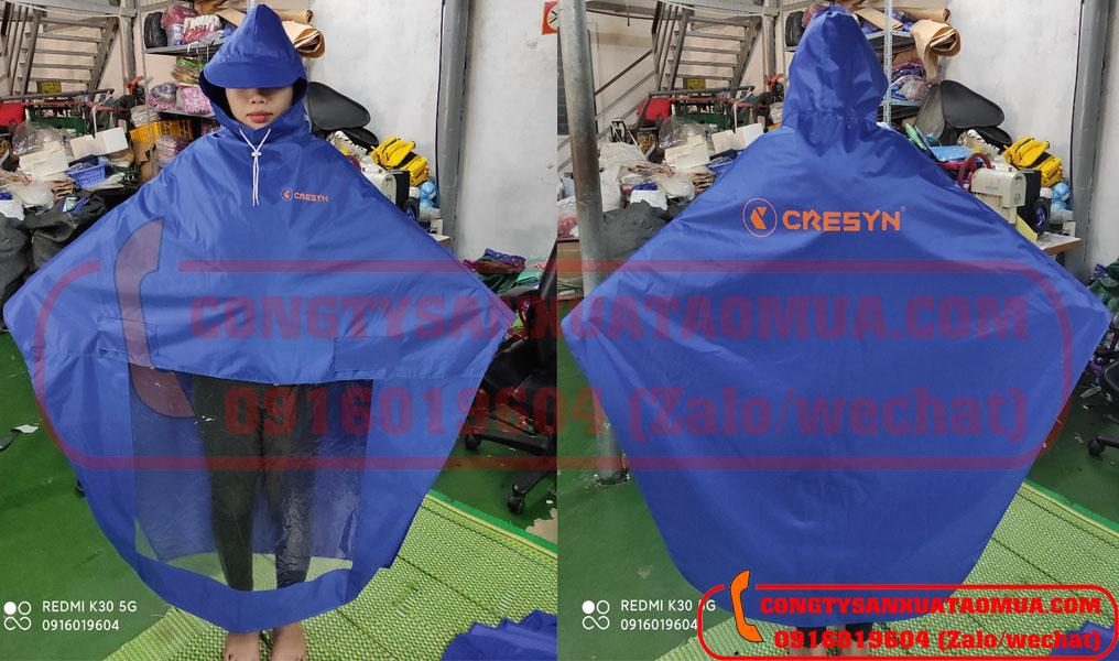 Xưởng sản xuất áo mưa dù dày nặng tại Hà Nội nhận sản xuất áo mưa theo đơn đặt hàng