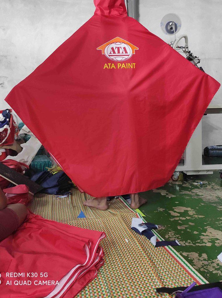 Công ty may áo mưa quà tặng tại Hà Nội , Bắc Ninh , Bắc Giang