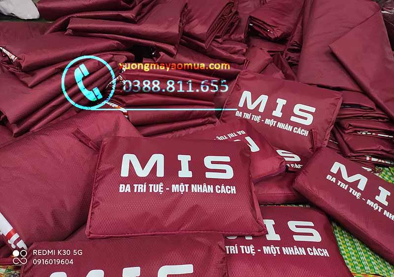 Đặt may áo mưa theo hợp đồng tại Hà Nội, Bắc Ninh, Bắc Giang