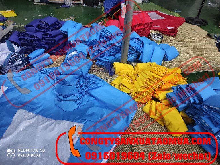 Xưởng trực tiếp may áo mưa tại Hà Nội