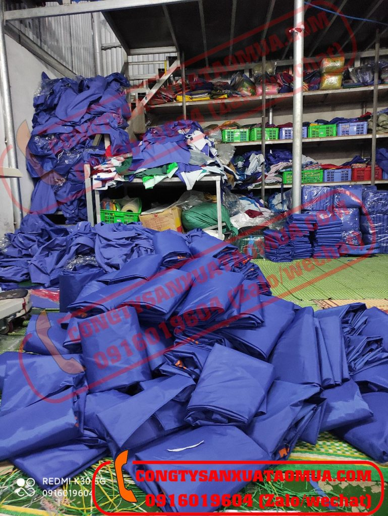 Xưởng trực tiếp sản xuất áo mưa ở Bắc Ninh