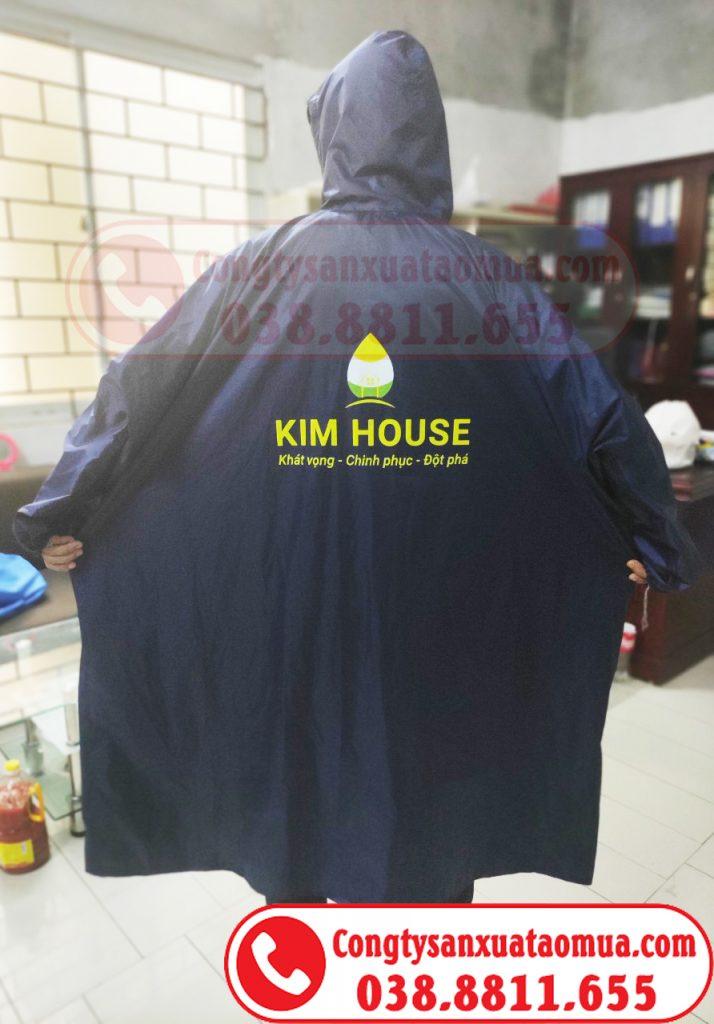 May áo mưa bít quà tặng nhãn hàng Kimhouse