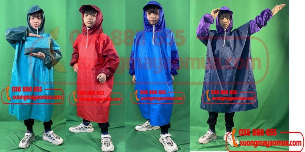 Công ty sản xuất áo mưa trẻ em tại Hà Nội